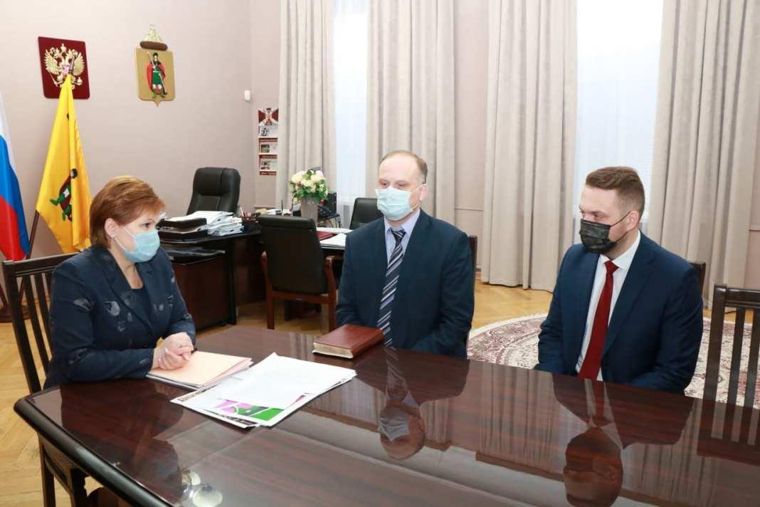 Сорокина рассказала о новых назначениях в администрации Рязани