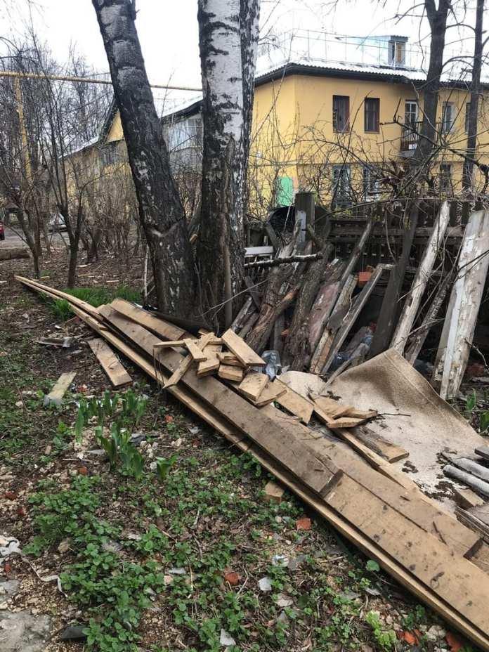 Рязанец пожаловался на последствия капремонта жилого дома