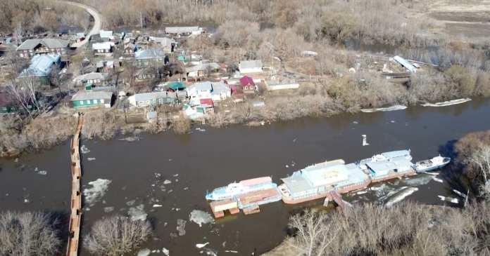 За сутки вода в Оке в Рязани поднялась на 12 сантиметров