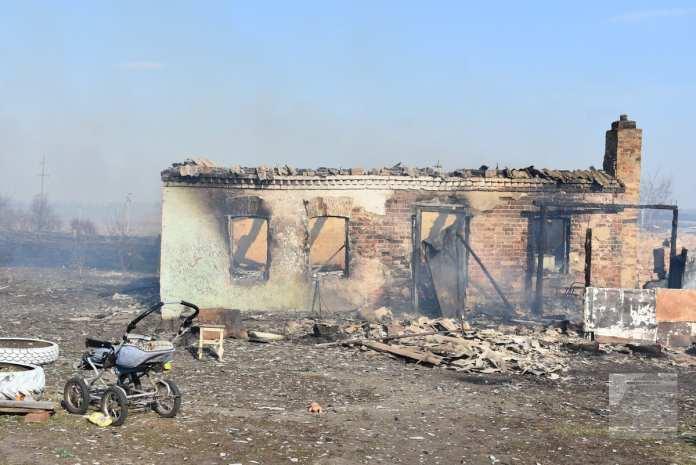 Пожар оставил без крова семь человек