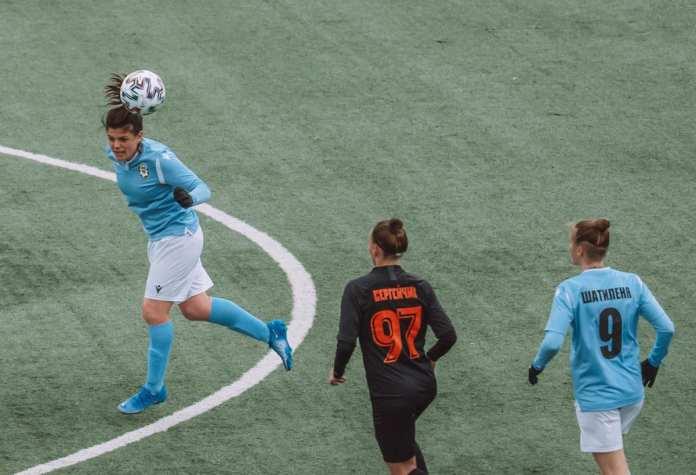 Футболистки «Рязани-ВДВ» осели в нижней части турнирной таблицы