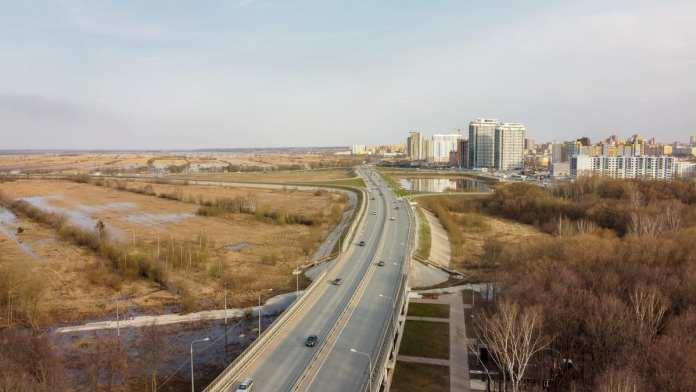 В Рязани ограничат движение транспорта по Северному обходу