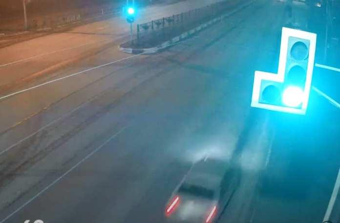 Момент смертельного ДТП на Московском шоссе попал на видео