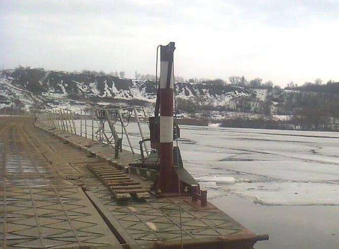 Движение по двум понтонным мостам в Шацком районе закрыли из-за половодья