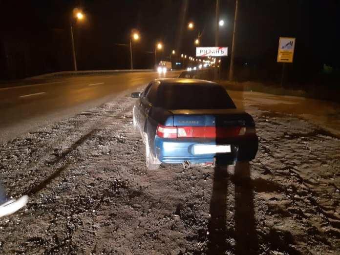 На М-5 в Рязани легковушка сбила 46-летнего пешехода