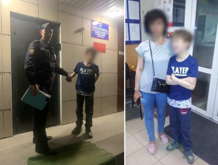 В Рязани полицейские за час отыскали пропавшего 12-летнего мальчика