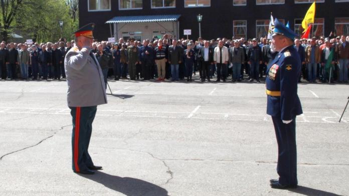 Рязанское высшее военное училище связи отметило 80-летие