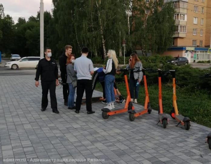 Рязанская мэрия по вечерам проверяет места массового скопления молодёжи