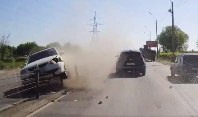 Момент ДТП на Северной окружной Рязани попал на видео