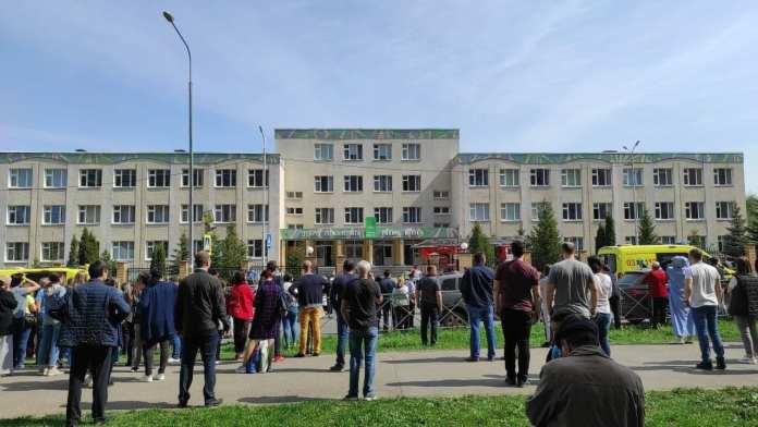 """СМИ показали поведение """"казанского стрелка"""" на суде"""