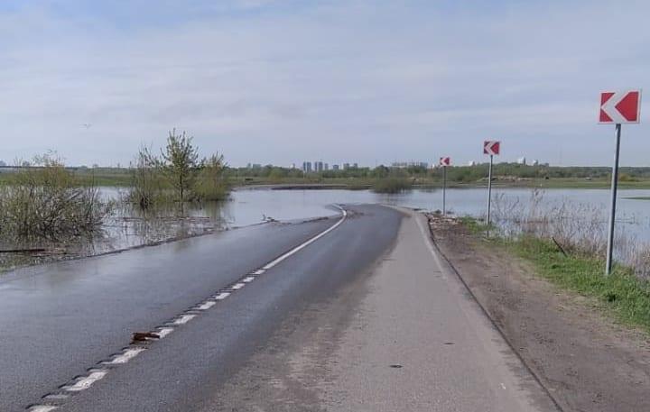 Под Рязанью вновь закрыли дорогу на Заокское и Коростово