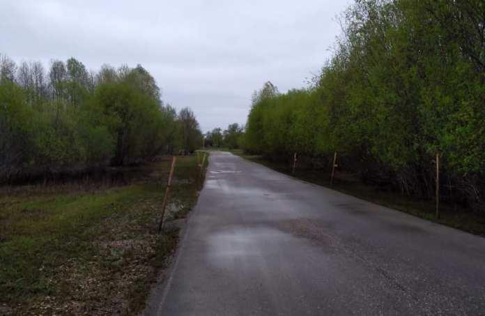 В Рязанской области открыли движение по дороге к населённому пункту Сенин-Пчельник