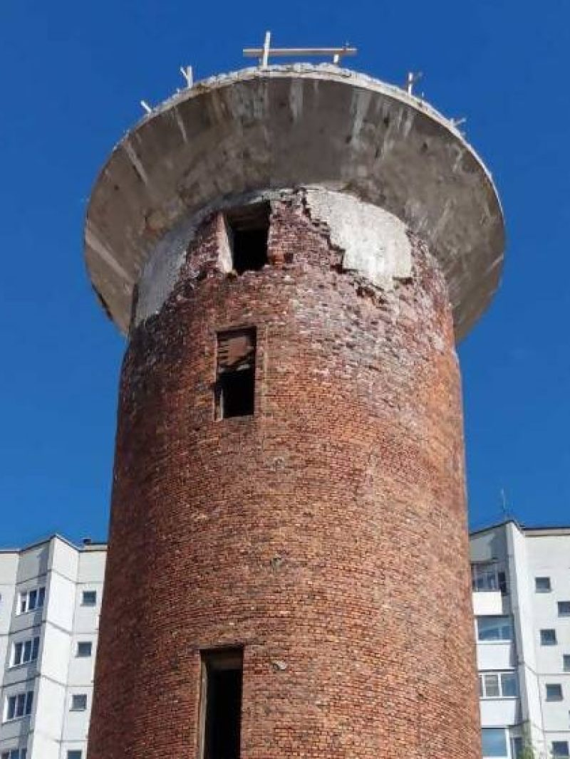 В Архангельске ввели режим ЧС из-за аварийной башни на пр. Новгородский