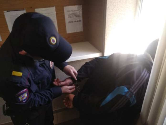 В Рязанском суде полицейские утихомирили пьяного дебошира