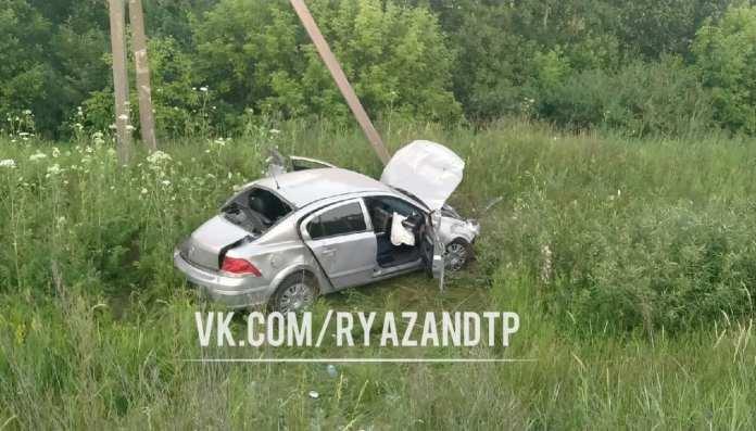 Опубликовано видео последствий ДТП на Солотчинском шоссе Рязани