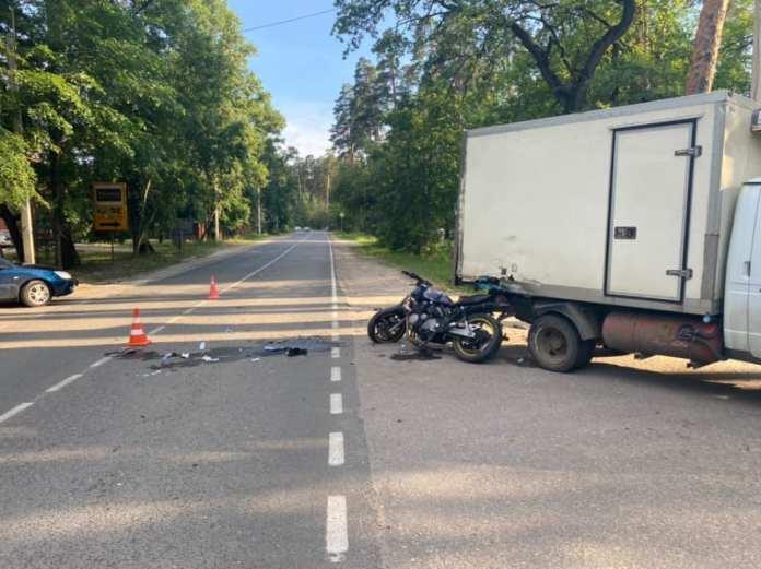 Мотоциклист пострадал в ДТП в Солотче
