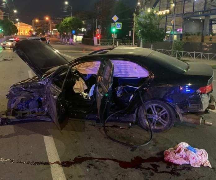 Полиция ищет очевидцев смертельного ДТП в центре Рязани