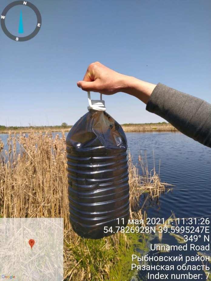 Экологи рассказали обизменении цвета озера вРязани