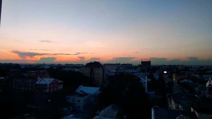 Рязанец сфотографировал нереальный закат
