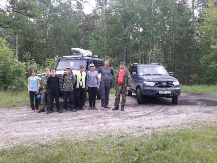 Под Рязанью спасли группу детей, отправившихся в поход по Пре
