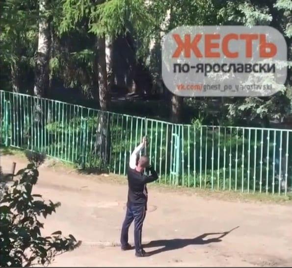 В Ярославле мужчина открыл стрельбу возле детсада