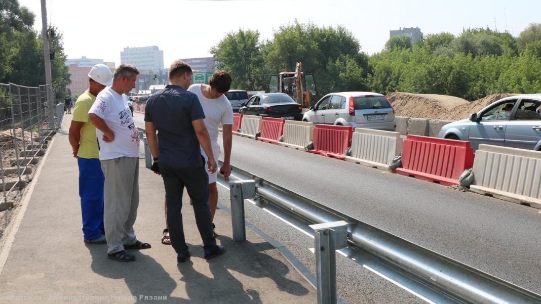 Борис Ясинский проверил ремонт дорог в рамках Нацпроекта