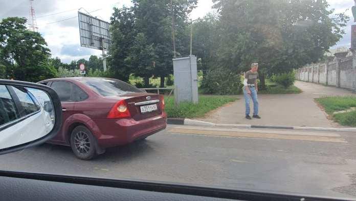 На улице Циолковского в Рязани сбили пешехода