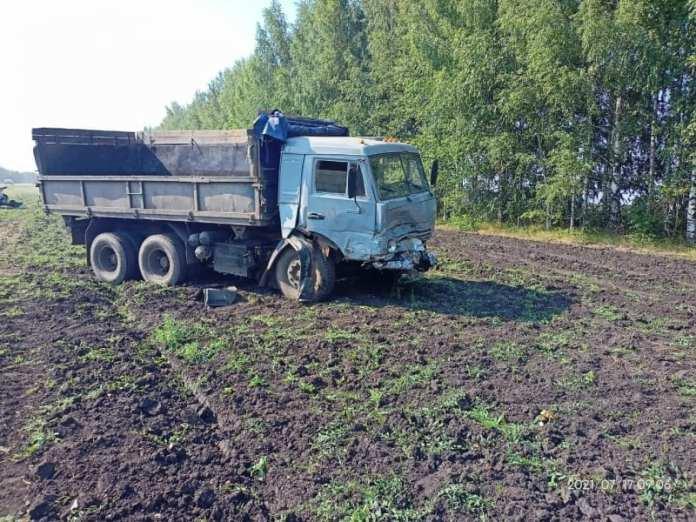 В ДТП с «Камазом» в Рязанской области погибли три человека