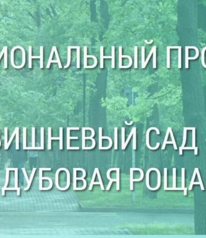 Рязанцев приглашают на слушанию по благоустройству Вишневого сада - Дубовой рощи
