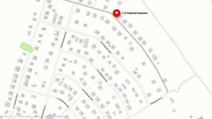 Движение по 5-му Озерному переулку в Рязани закроют на две недели