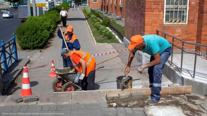 """В Рязани лестницы возле """"Полсинаута"""" отремонтируют за неделю"""