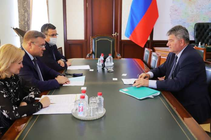 Любимов обсудил сотрудничество Рязанской области и Республики Беларусь