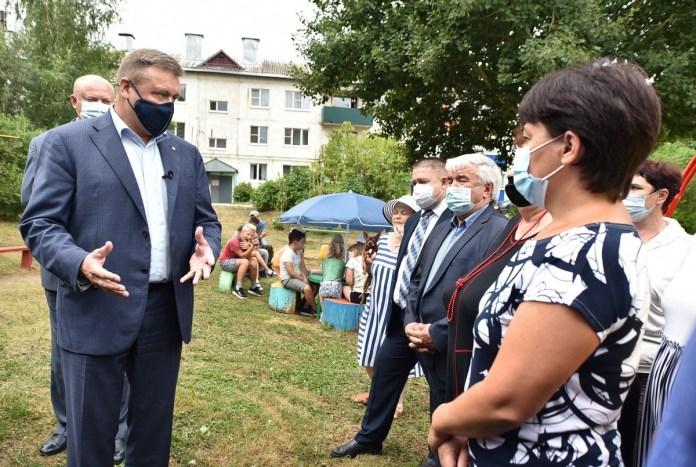 Николай Любимов встретился с активистами Шиловского района