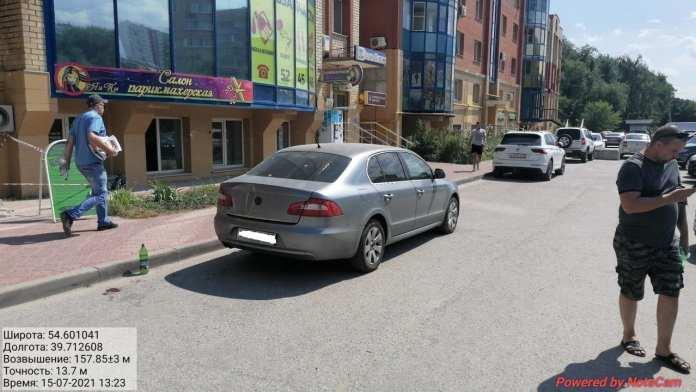 На улице Черновицкой в Рязани иномарка сбила 65-летнюю женщину