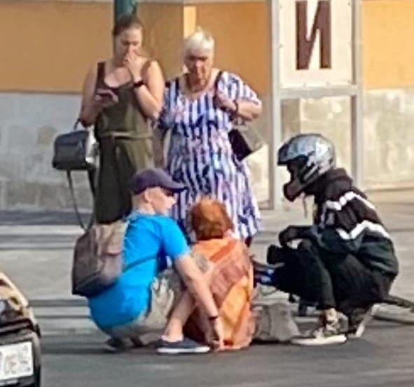 В Рязани велосипедист сбил женщину на пешеходном переходе