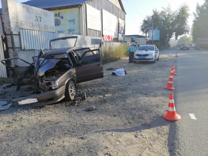 Три молодых человека погибли в ДТП в Новосибирской области