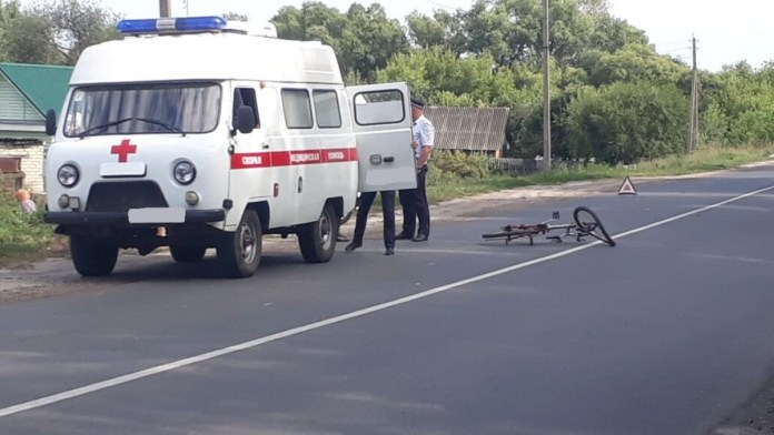 В Сараях Lada Granta сбила 12-летнего велосипедиста