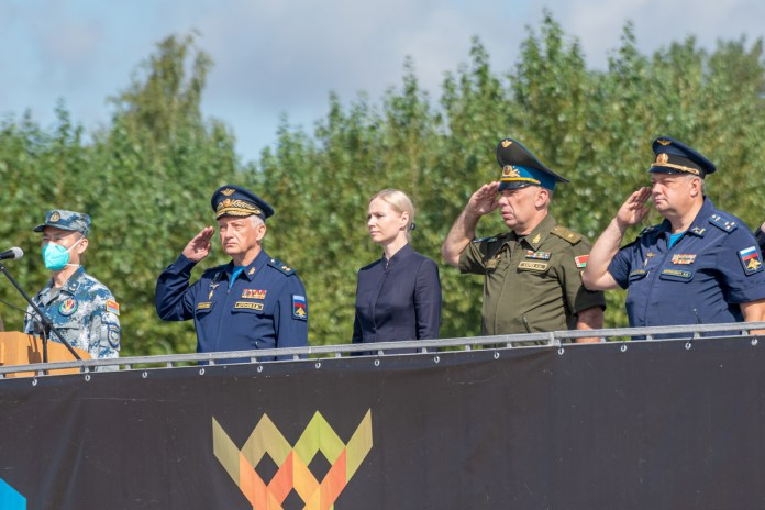 В Рязани торжественно открыли международный «Авиадартс-2021»