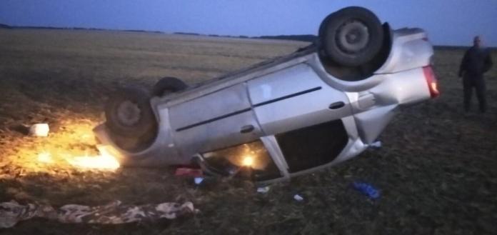 В Сараях водитель погиб под перевернувшейся машиной