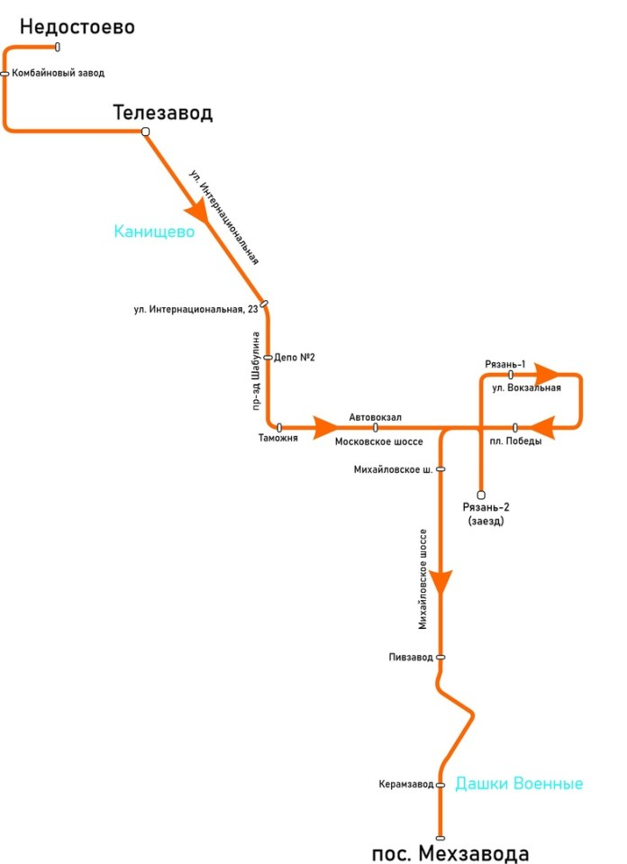 Рязанцев просят принять участие в опросе по созданию нового городского маршрута
