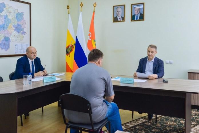 На личный прием к председателю областной Думы Аркадию Фомину обратились жители Шиловского района