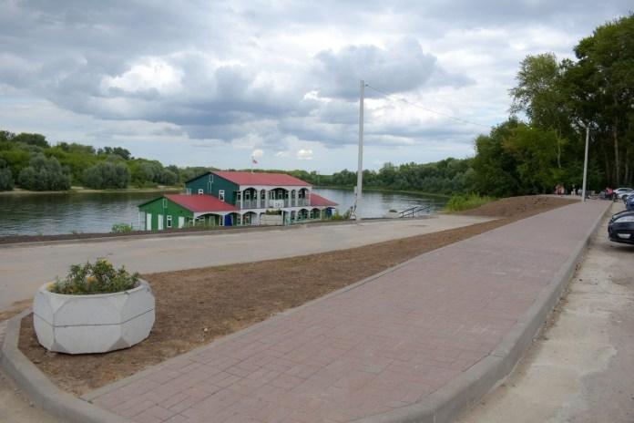 Рязанскую пристань планируют и дальше благоустраивать