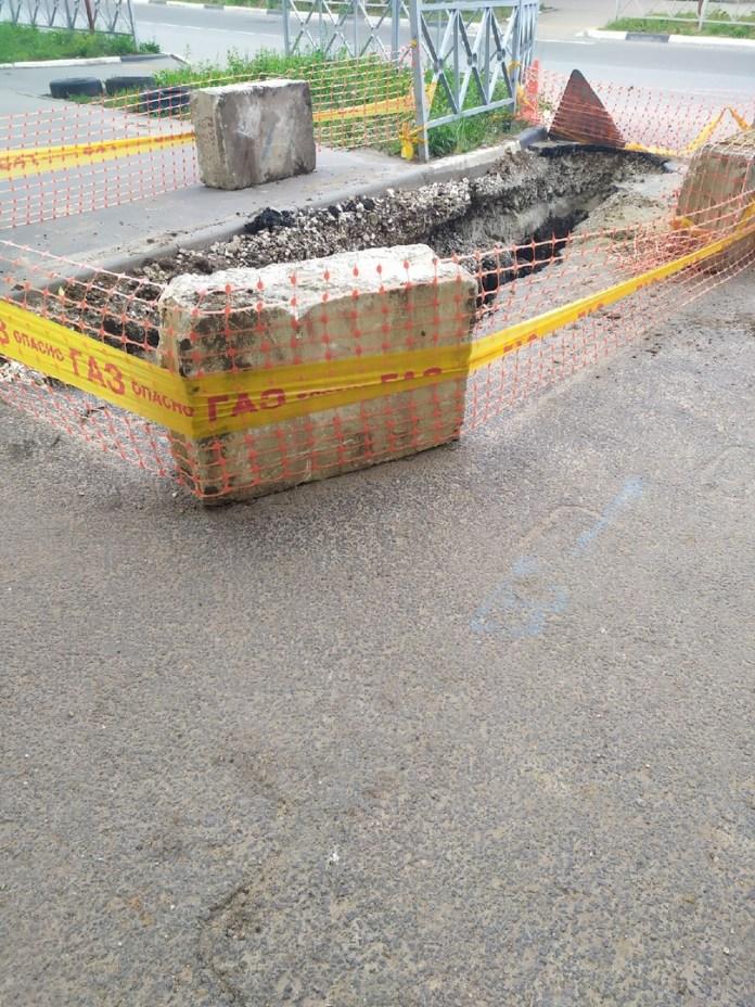 Рязанцы пожаловались на вскрытые после капремонта дороги