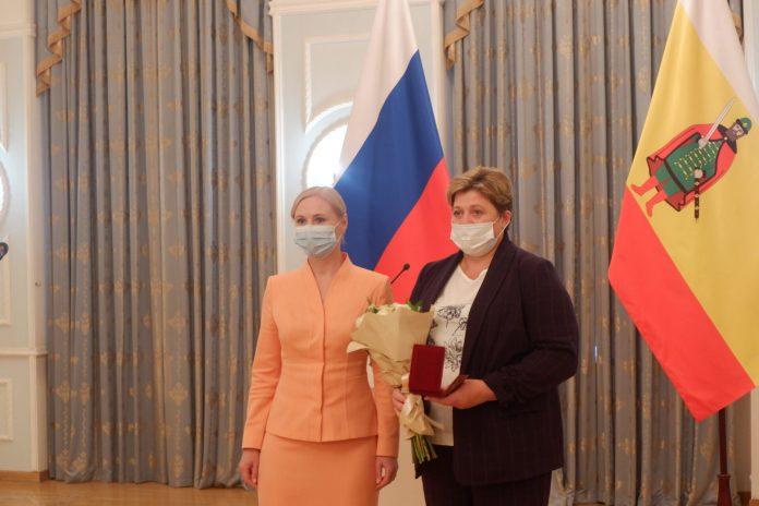 В Рязани наградили за труд жителей региона
