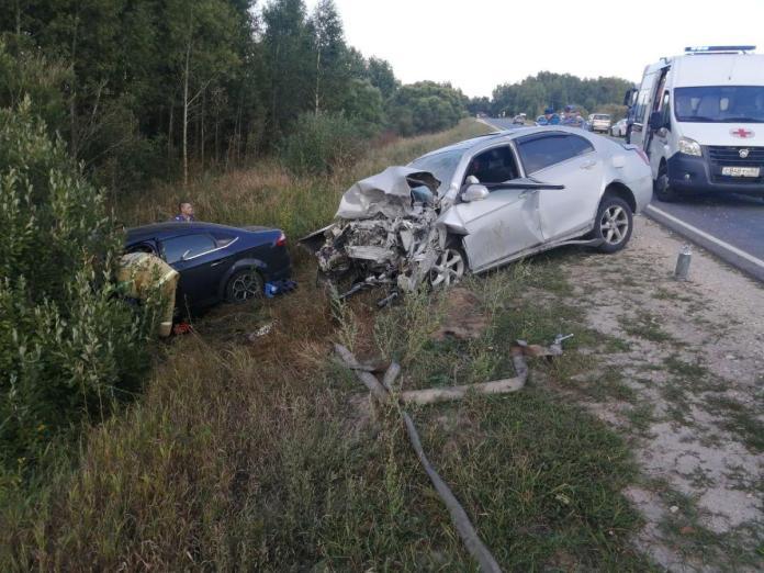 Смертельное ДТП произошло на автодороге Москва — Касимов