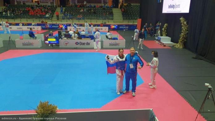 Рязанка завоевала золото на первенстве Европы по тхэквондо
