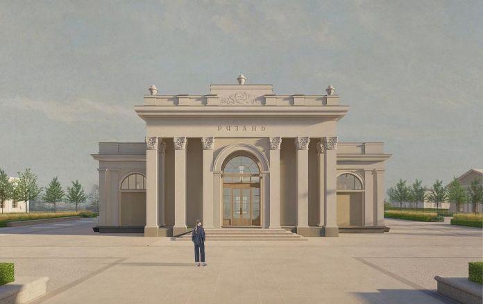 В Рязани представили проект развития Торгового городка