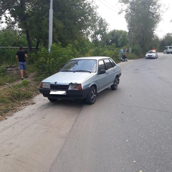 На окраине Рязани водитель сбил инвалида на коляске