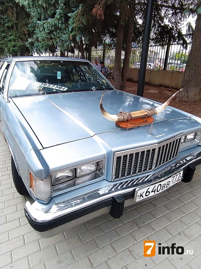 В Рязани состоялся восьмой фестиваль ретроавтомобилей