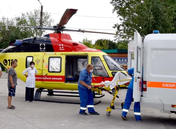 В Рязань вертолетом санавиации госпитализировали 10-летнюю девочку из Новомичуринска